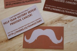 Team Victory Movember Cards