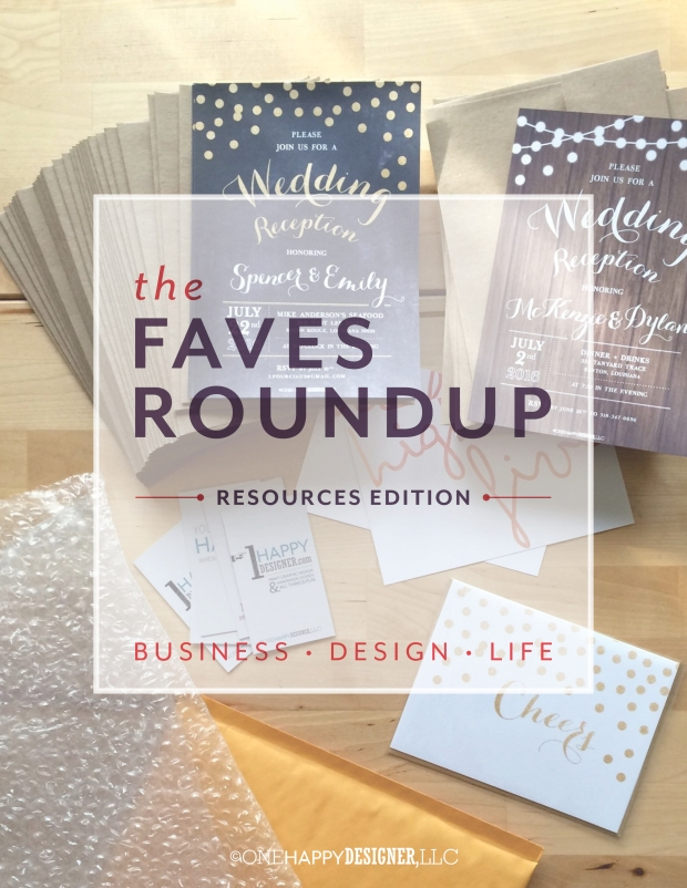 Faves Roundup : Resources Edition