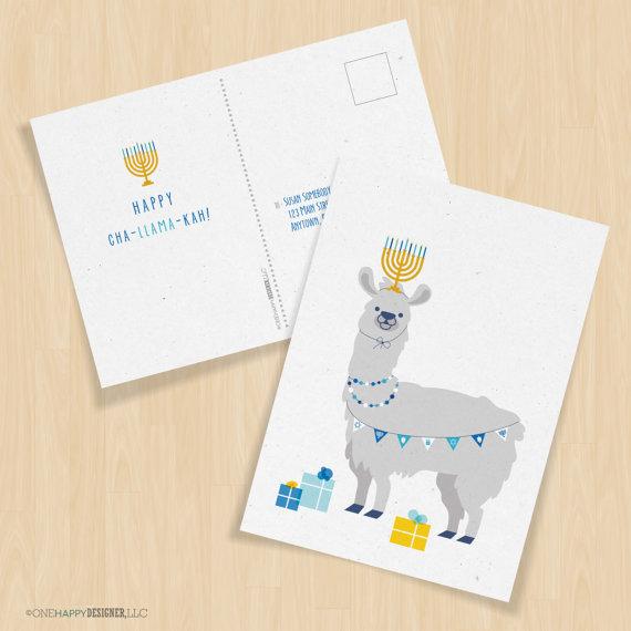 Happy Cha-Llama-Kah !