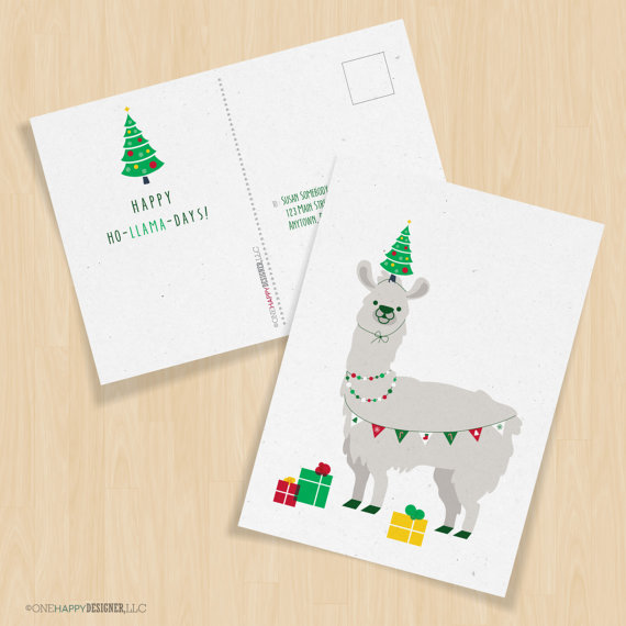 Happy Ho-Llama Days !