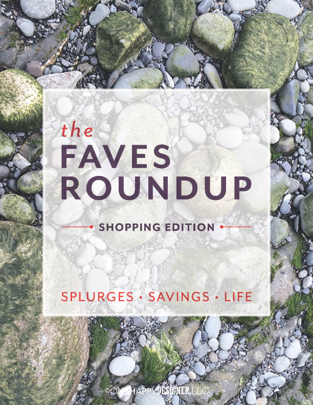 Faves Roundup - Shopping Edition