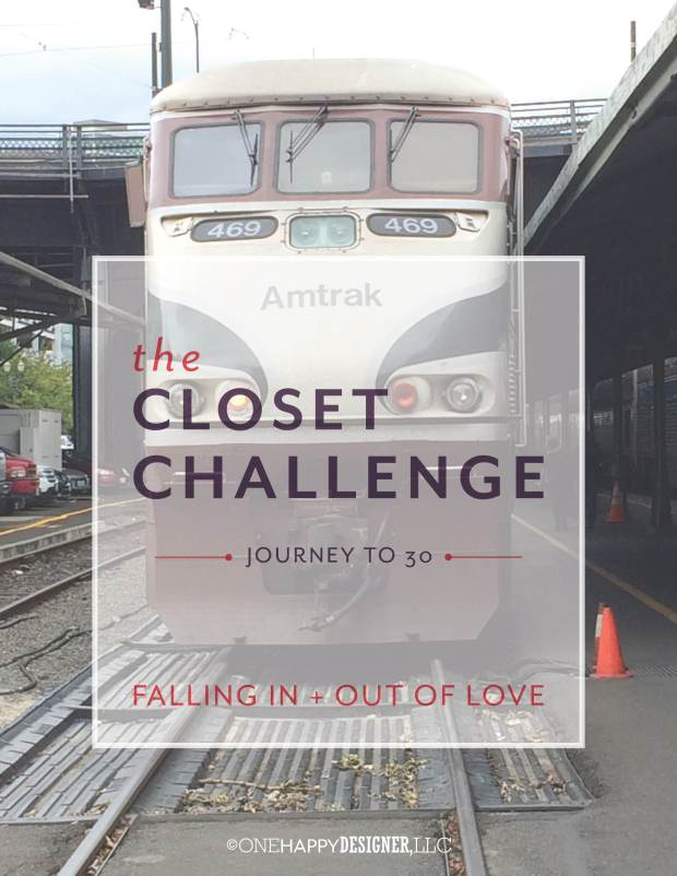 The Closet Challenge : Falling In + Out of Love